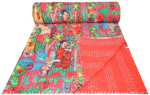 Ramdev Handicrafts Handmade & Designer Kantha Bed Covers
