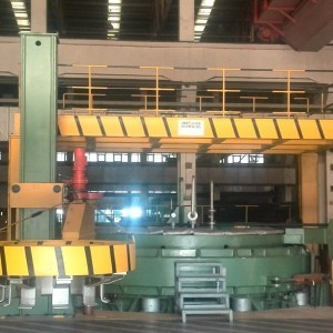 ALL-STEEL GIANT TIRE HYDRAULIC VULCANIZING MACHINE