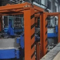 OIL HYDRAULIC TIRE VLCANIZING MACHINE-SINGLE MOULD
