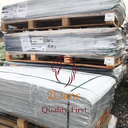 PET G sheets recycled plastic post industrial plastic scrap