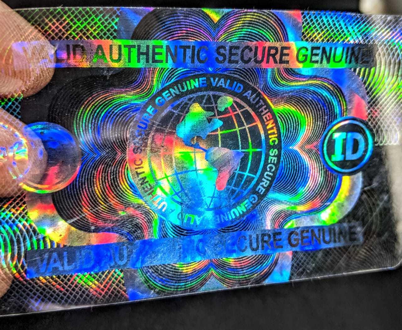 Custom hologram Overlays