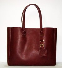 brown Leather women Bag