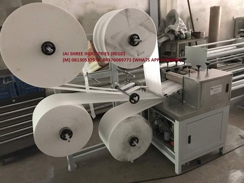 Fully automatic sanitary pad machine