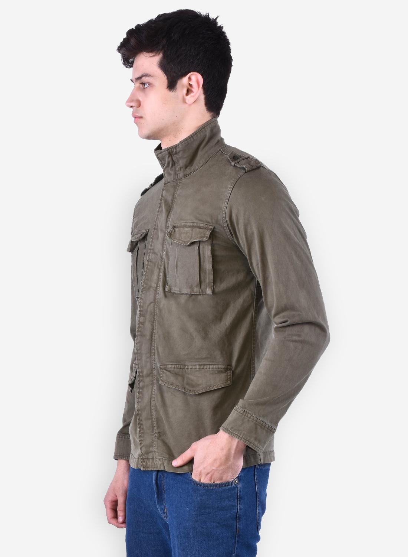 Mens Cotton Lycra Jacket