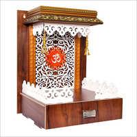 Designer Wooden Pooja Temple