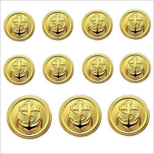 Anchor Brass Badge