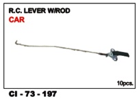 Rc Lever Rod W/Rod Car L/R
