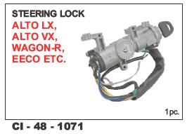 Steering Lock AltoLx, Altovx,Wagon-r, Eeco