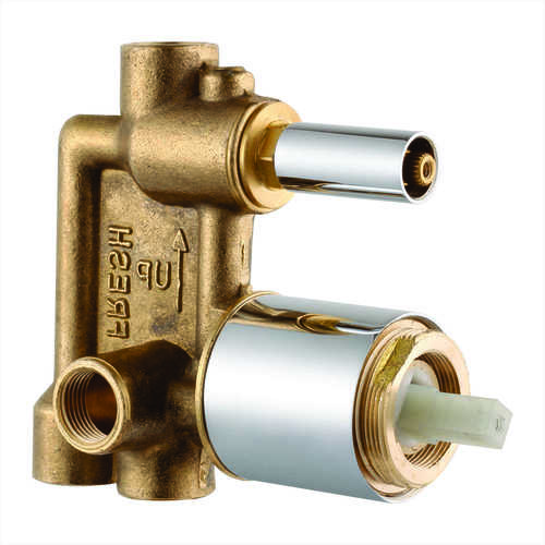 SINGLE LEVER DIVERTOR BODY 3 INLET WITH CARTRIDGE & SLEEVE