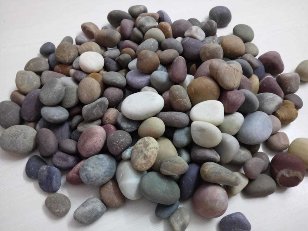 Wholesale Mix Agate Polished Pebbles Stone For Decoration