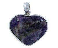 Amethyst 925 Silver Gemstone Pendant