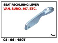 Seat Recklining Lever Van, sumo, 407