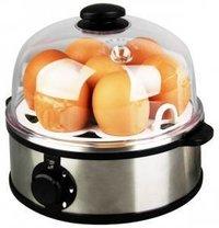 Egg cooker steamer with hardness setting