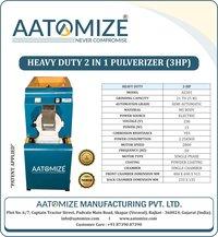 3hp Micro Grinding Pulvelizer