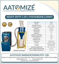 10hp Heavy Duty Pulvelizer