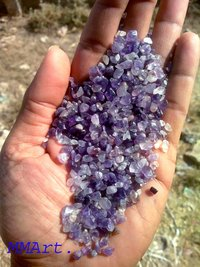 Wholesale machine polished Amethyst Gravel for home decoration