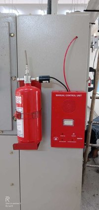 Fire Suppression system for Electrical Panel