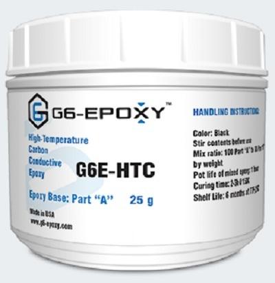 HIGH TEMPERATURE CARBON FILLED CONDUCTIVE EPOXY G6E-HTC