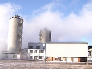 Complete plant of waste water disposal