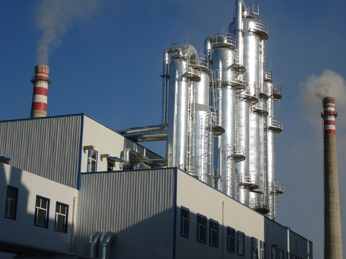 Complete plant of alcohol production