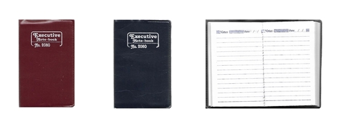 Mini Pocket Size Notebook, (64 Pages)
