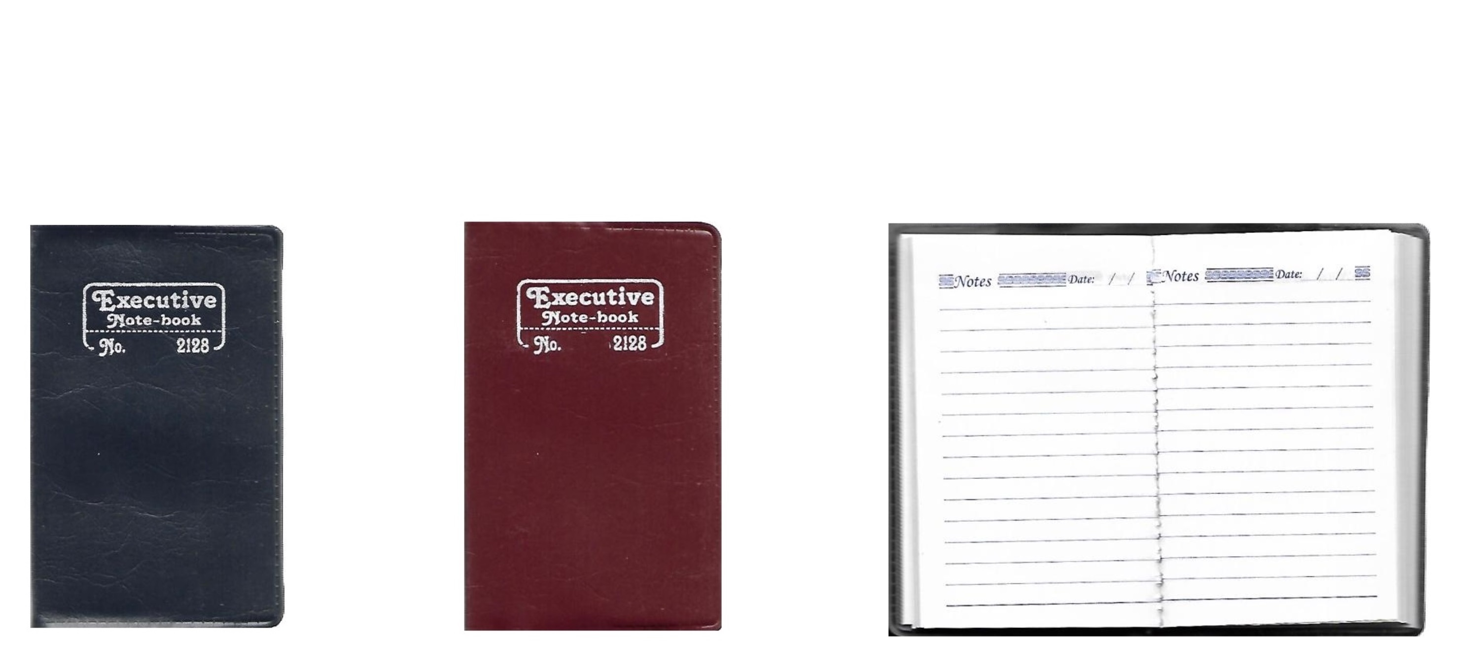Mini Pocket Size Notebook, (128 Pages)