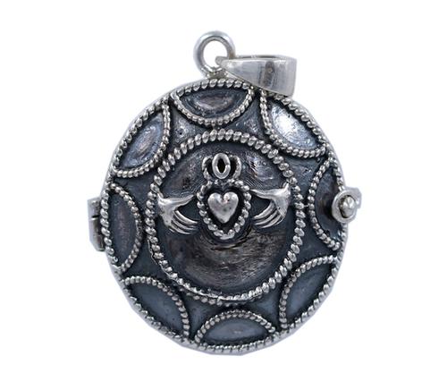 Round Designer 925 Silver Pendant