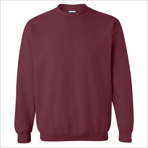 Mens Plain Sweatshirt