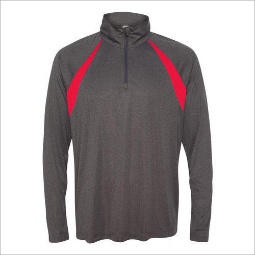 Mens Half Zipper Sweatshirt