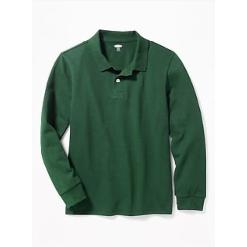 School Green Winter T-Shirt
