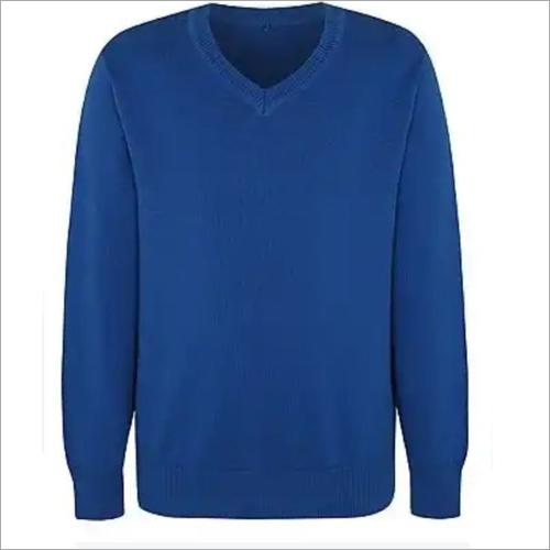 Blue School Sweater