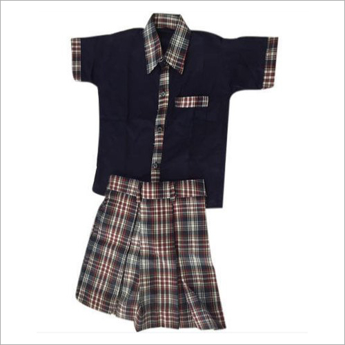 Girls School Check Uniform