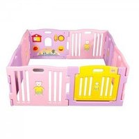 High Quality Safety Plastic Baby Playpen Bed