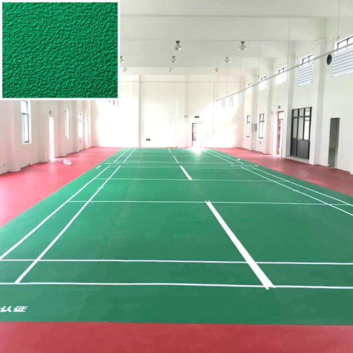 BWF certificated Badminton Court pvc Flooring