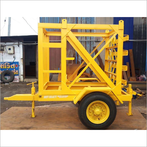 Industrial Tractor Trailer Trolley