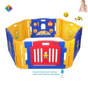 High Quality Plastic Large Baby Safety Playpen, Best Playpen For Kids Used Home Indoor Outdoor