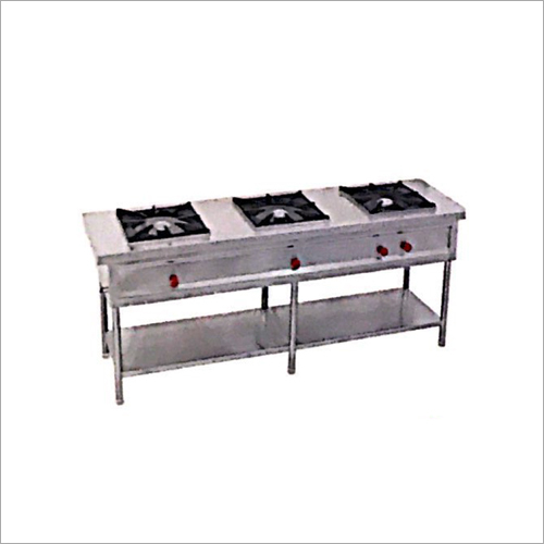 Three Burner Cooking Range