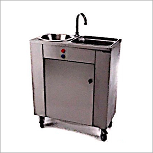 Stainless Steel Mobile Sink Unit