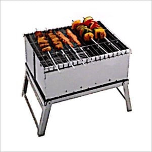 Stainless Steel Mini BBQ Charcoal Grill