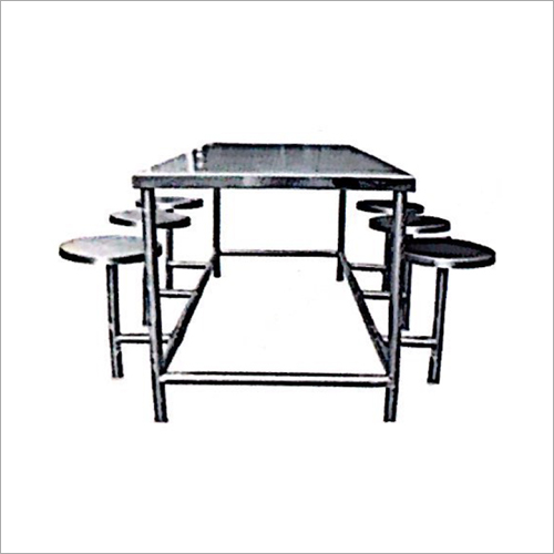 6 Seater Canteen Dinning Table