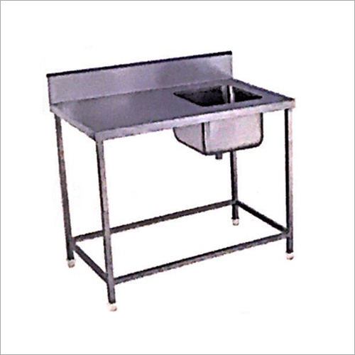 Kitchen Stainless Steel Sink Work Table