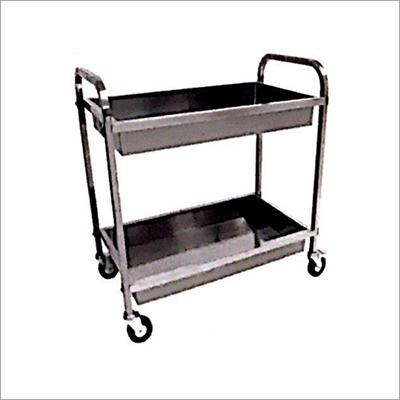 SS Clean Dish Trolley