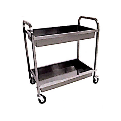 SS Clean Dish Trolley