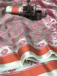 ORGENZA SILK SAREE