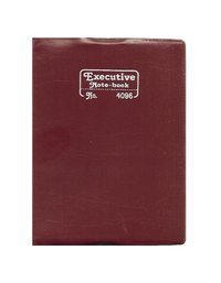Royal Size Notebook, (96 Pages)