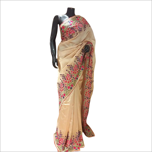 100% Pure Silk Resham Saree