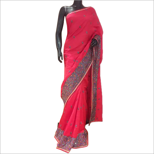 Art Silk Resham Saree