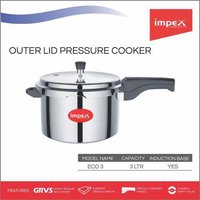 IMPEX Pressure Cooker 3 Ltr (ECO 3)
