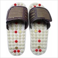 Acupressure Magnetic Slippper White