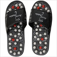Black Acupressure Slipper